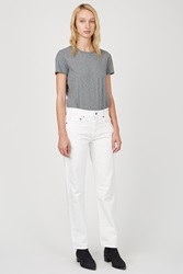 Acne Studios Shore White Relaxed Jeans 32