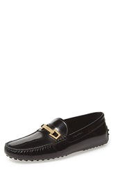 Tod's 'Gommini' Driving Moccasin Men Black Leather
