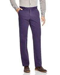 The Men's Store At Bloomingdale's Brushed Cotton Regular Fit Pants Navy Twist