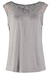 Saint Tropez Basic Tshirt Grey