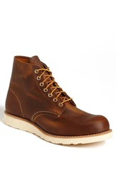 Red Wing Shoes Men's Red Wing Round Toe Boot Copper Rough 9111