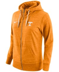 Nike Women's Tennessee Volunteers Tailgate Gym Vintage Full Zip Hoodie Orange Heather