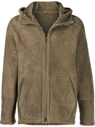 Salvatore Santoro Zipped Hooded Jacket Grey