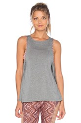 Maaji Salutation Seal Tank Gray