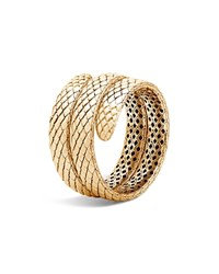 John Hardy 18K Yellow Gold Legends Cobra Coil Bracelet