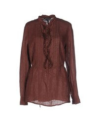 Pennyblack Shirts Blouses Women Dark Brown