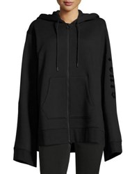 Fenty Puma By Rihanna Fleece Lined Full Zip Hoodie Black