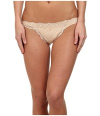 Dkny Downtown Cotton G String Pretty Nude Women's Underwear Beige