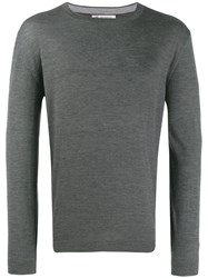 Brunello Cucinelli Relaxed Fit Jumper Grey
