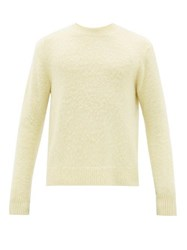 Acne Studios Peele Wool Blend Jumper Yellow
