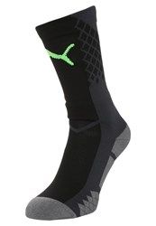 Puma Sports Socks Black Green Gecko
