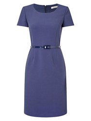 Precis Petite Eliza Tailored Shift Dress Navy