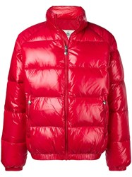 Pyrenex Puffer Coat Red
