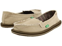 Sanuk Shorty Khaki Women's Skate Shoes