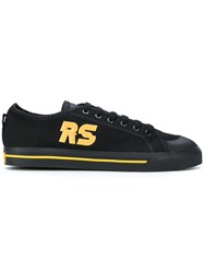 Raf Simons Adidas By Spirit Low Sneakers Polyester Canvas Rubber 5.5 Black
