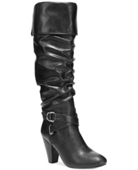 Rampage Ellesandra Dress Boots Women's Shoes Black