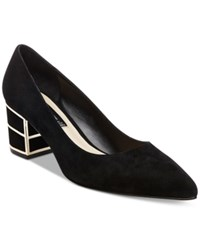 Steve Madden Steven By Buena Pointed Toe Pumps Women's Shoes Black