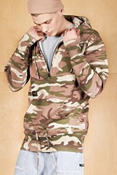 Forever 21 Cayler And Sons Camo Hoodie Olive Brown