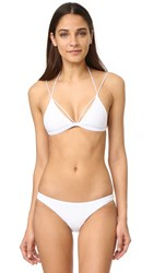Dion Lee Two Piece Swimsuit White
