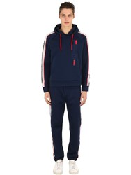 Fendi Mania Sweatshirt And Sweatpants Blue