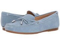 Michael Michael Kors Sutton Moc Powder Blue Sport Suede Shoes
