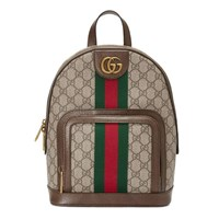 Gucci Ophidia Gg Small Backpack Linen