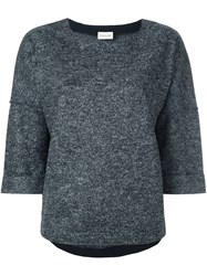 Moncler Knitted Top Black