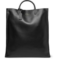 Smythson Bond Leather Tote Bag Black