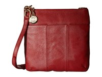 Tommy Hilfiger Signature Pebble Crossbody Red Cross Body Handbags