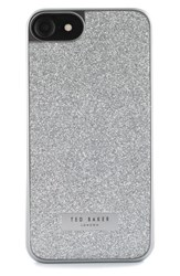 Ted Baker London Sparkles Iphone 7 And 7 Plus Case Metallic Silver