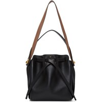 Anya Hindmarch Black Small Shoelace Bag
