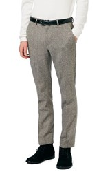 Topman Men's Skinny Fit Suit Trousers