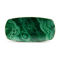 L'objet Malachite Rectangle Tray Small