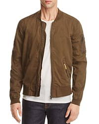 Superdry Rookie Duty Bomber Jacket Tank Green