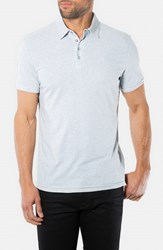 Men's 7 Diamonds 'Ultimate' Polo Lt.Blue