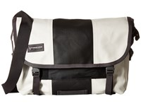 Timbuk2 Classic Messenger Bag Small Heirloom White Black Messenger Bags