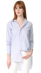 Frank And Eileen Grayson Button Down Blue Stripe