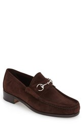 Men's Gucci Classic Suede Moccasin