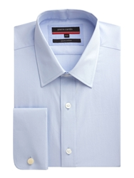Pierre Cardin Light Blue Poplin Shirt