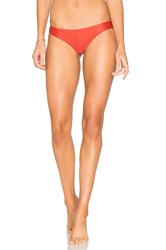 Rvca Solid Cheeky Bottom Red