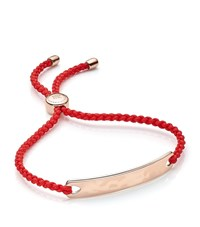 Monica Vinader Havana Friendship Bracelet Female Coral