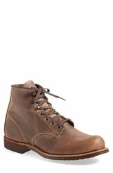 Red Wing Shoes Men's 'Blacksmith' Boot Billy Beige Brown Leather