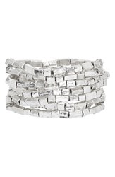 Women's Karine Sultan Bracelets Silver Set Of 7