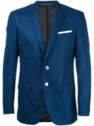 Hugo Boss Button Up Blazer Blue