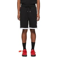 Marcelo Burlon County Of Milan Black Nba Edition Chicago Bulls Shorts