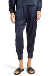 Vince Women's Slim Satin Jogger Pants