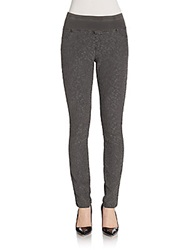 Xcvi Jacquard Lace Leggings Grey