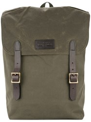 Filson Wide Loose Backpack Green