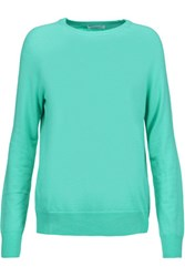 Equipment Sloane Wool Blend Sweater Turquoise