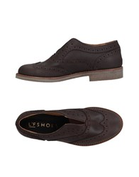 L'f Shoes Loafers Dark Brown